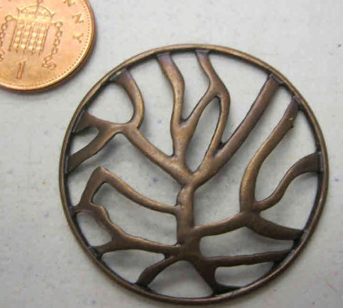 Copper Tree of Life Style Pendant - Single